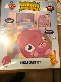 Moshi Monsters single duvet set
