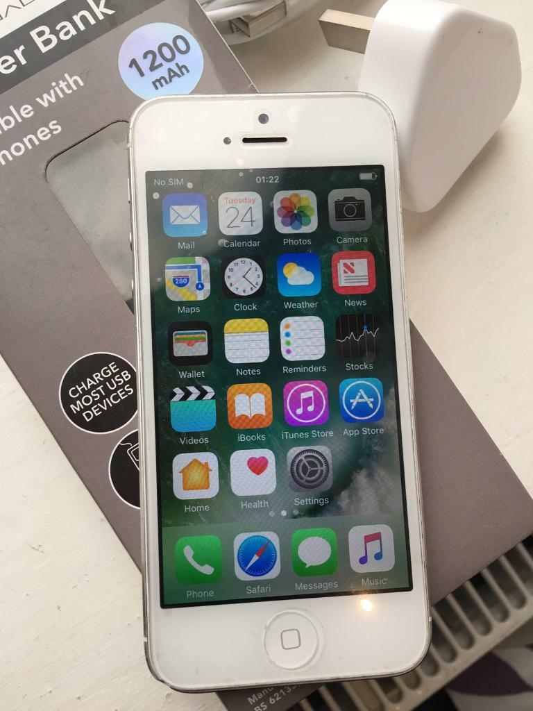 iPhone 5 SilverEE T Mobile virgin networkin Newcastle, Tyne and WearGumtree - iPhone 5 Silver On EE T Mobile or orange . 16gb memory. Comes with charger and power bank . iCloud has been wiped off. Collection only