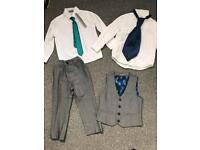 Boys grey suit from NEXT