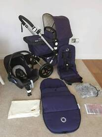 Bugaboo Cam3 limited edition classis navy with extras