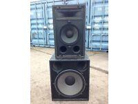 JBL Sound PA System