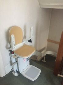 Acorn Stairlift - curved, one year old, as new. £1000 plus £2000 for Acorn to install.