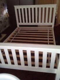 Woden Double bed