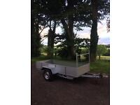 10x4 Indespension Galvanised chassis trailer