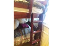 Solid Wood Adult Bunk Bed
