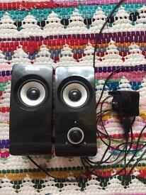 'Trust' powered speaker set