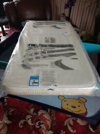 Mothercare SAFEseal COOLmax foam cot mattress.