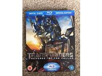 Transformers Revenge Of The Fallen Blue Ray