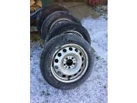 Mini Cooper winter wheels