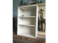 Standard White 600mm Wall Unit - Brand New 2 Adjustable Shelves ideal for Gargage