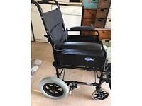 Invacare folding wheelchair