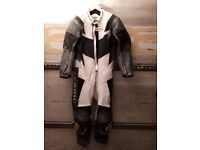 Teknic motorcycle leather all in one suit