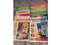 Simpsons Comics, Books and Collectibles Bundle