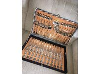 51 piece Canteen of cutlery set