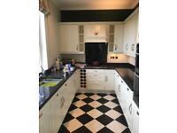 Second hand kitchen including granite worktops