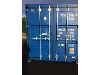 20 foot shipping storage container