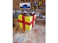 Christmas Present bird box