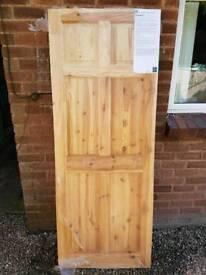 Broadland 6 panel wooden interior door