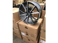 "4 19"" alloy wheels alloys rims tyre tyres vw Volkswagen seat Skoda audi 112"