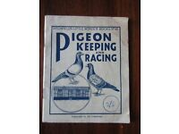 Pigeon Keeping And Racing ~ Ditchfield's Little Wonder Book No 16 ~ Vintage