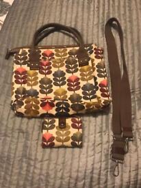 Orla keily handbag and purse