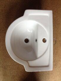 Cloakroom basin/sink