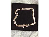 Large solid silver chain 67 grams