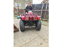 Quad for sale big red really good condition for age