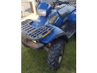 Polaris quad bike for sale or swap for fishing boat
