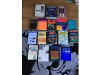 Huge bundle of sociology books!!