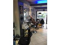 Chairs for rent in a trendy, modern salon located in Brixton.