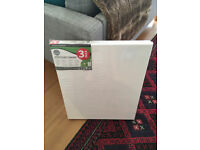 BRAND NEW 3-PACK stretched canvases - 50x60cm