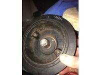 Bottom Pulley L200 Barbarian. Used