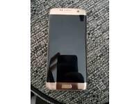 Samsung galaxy s7 edge gold