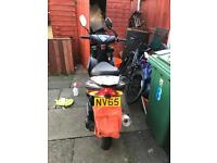 Sinnis harrier 125 4 stroke 65 plate