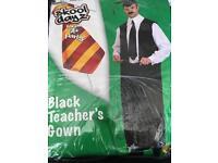 Black teachers gown - fancy dress