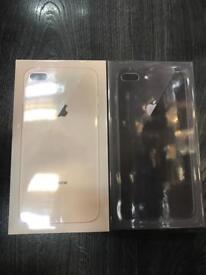 iPhone 8 Plus 256GB Brand new Sealed full warranty