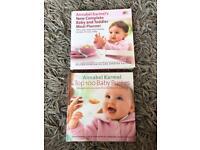 Annabel Karmel baby & toddler recipe books