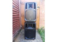 Pair of Citronic 300w Speakers