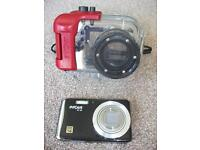 INTOVA IC14 DIVE CAMERA & CASE excellent camera to capture all your under water experiences