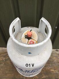 13 kg empty Butane gas bottle cylinder