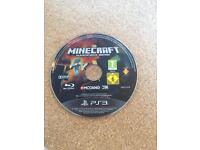 Mine craft for PS3