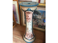 Villeroy and Bach Jardiniere £120 Height 36in.