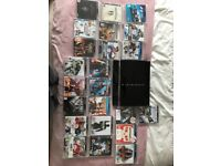 PS3 Original 60GB with 23 Games and 4 Wireless Controllers