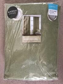 Brand new Green curtains