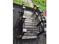 Beautiful garden wooden bridge only £60 bargain