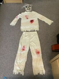 Halloween Zombie outfit age 7-8