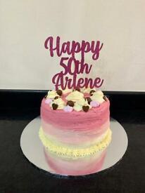 Birthday Cake - made to order