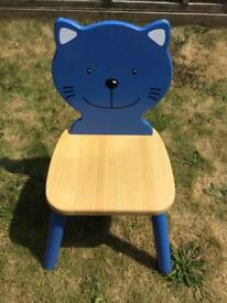 Toddler wooden chair
