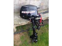 Outboard. Mercury 3.5 hp 4 Stroke